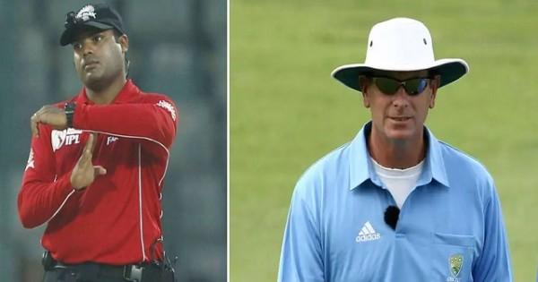 भारत में बढ़ते कोरोना कहर के बीच अब अंपायर नितिन मेनन और ऑस्ट्रेलियाई पॉल रीफेल ने छोड़ा IPL