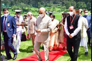 4 दिवसीय दौरे पर हिमाचल पहुंचे राष्ट्रपति रामनाथ कोविंद