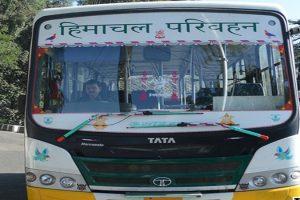 हिमाचल में 100 फीसदी सवारियों के साथ चलेंगी HRTC बसें!