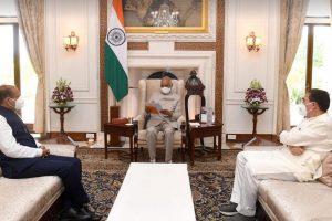 CM जयराम ने की राष्ट्रपति से मुलाकात, हिमाचल आने का दिया निमंत्रण