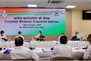 मैं ही हूं पार्टी की पूर्णकालिक अध्यक्ष, CWC की बैठक में बोलीं सोनिया गांधी