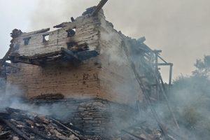 शिमला में आग की चपेट में आकर राख हुआ कच्चा मकान